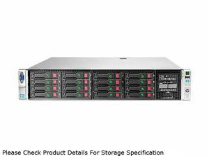 HP ProLiant DL380p Gen8 Rack Server System 2 x Intel Xeon E5-2640 2.5GHz 6C/12T 16GB (2 x 8GB) DDR3 670854-S01