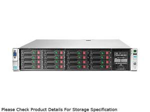 HP ProLiant DL380p Gen8 Rack Server System Intel Xeon E5-2609 2.4GHz 4C/4T 8GB (1x8GB) 670857-S01