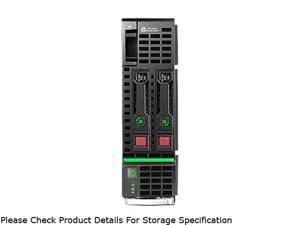 HP ProLiant BL460c Gen8 Blade Server System 2 x Intel Xeon E5-2640 2.5GHz 6C/12T 48GB (6 x 8GB) DDR3 No Hard Drive 670657-S01