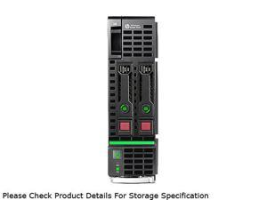 HP ProLiant BL460c Gen8 Blade Server System 2 x Intel Xeon E5-2620 2.0GHz 6C/12T 32GB (4 x 8GB) No Hard Drive 670658-S01
