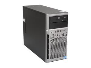 HP ProLiant ML310e Gen8 Micro ATX Tower (4U) Server System Intel Core i3-3220 3.3GHz 2C/4T 2GB (1 x 2GB) 674785-001