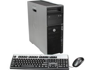 HP Z620 Workstation Rackable minitower Server System 2 x Intel Xeon E5-2620 2GHz 6C/12T 12GB Operating System Windows 7 Professional ...