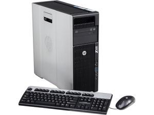 HP Z620 Workstation Rackable minitower Server System Intel Xeon E5-2630 2.3GHz 6C/12T 6GB Operating System Windows 7 Professional ...