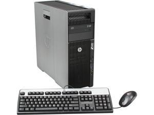 HP Z620 Workstation Rackable minitower Server System Intel Xeon E5-2609 2.4GHz 4C/4T 4GB DDR3 Windows 7 Professional 64 B2B79UT#ABA