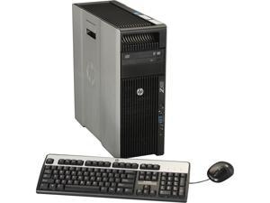 HP Z620 Workstation Rackable minitower Server System Intel Xeon E5-1620 3.6GHz 4C/8T 4GB Operating System Windows 7 Professional ...