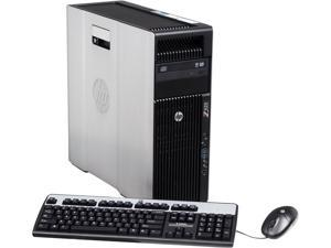 HP Z620 Workstation Rackable minitower Server System Intel Xeon E5-2609 2.4GHz 4C/4T 6GB Operating System Windows 7 Professional ...