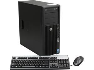 HP Z420 Workstation Convertible Minitower Server System Intel Xeon E5-1620 3.6GHz 4C/8T 6GB Operating System Windows 7 Professional ...