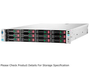 HP StoreEasy 1630 Rack Storage Server Intel Xeon E5-2407 2.2GHz 4C/4T 12GB (3x4GB) 28TB (14 x 2TB) SAS Operating System Microsoft ...