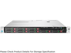 HP ProLiant DL360p Gen8 Rack Server System Intel Xeon E5-2609 V2 2.5GHz 4C/4T (Max 2 Sockets/8 Cores) 8GB DDR3-1600 No Hard Drive 737290-S01