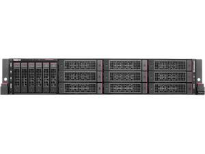 "Lenovo ThinkServer RD650 Rack Server 2 x Intel Xeon E5-2690 v3  2.6 GHz 128GB 8 x 16 GB 2133 MHz RDIMM 2 x 120GB 2.5"" SATA 6 Gbs SSD 70D40029UX"