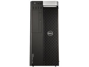 DELL Precision Mini-tower Server Workingstation Intel Xeon E5-1620 V2 3.7GHz 8GB 500GB 7200RPM Operating System Windows 7 ...