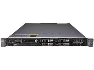 "DELL PowerEdge R610 Server 2 x Xeon L5520 2.26GHz 4GB (2 x 2GB) ECC REG DDR3-1066 2x 72GB 10K SAS 2.5"" RCDER610-N8"