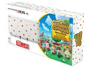 Nintendo 3DS XL with Animal Crossing: A new leaf