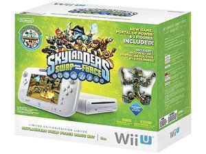 Nintendo Wii U Skylanders Swap Force Set White