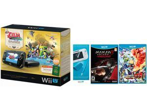 Nintendo Zelda Ninja Wonderful Wii U Bundle