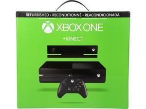 Refurbished: Microsoft Xbox One with Kinect Black