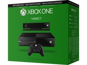 MICROSOFT FACTORY RECERTIFIED XBOX ONE GAMING CONSOLE KINECT BUNDLE W/ 8GB/MEMORY 500GB HARD DRIVE WIRELESS-CONTROLLER CHAT-HEADSET HDMI-CABLE RETAIL-BOX 90DAY