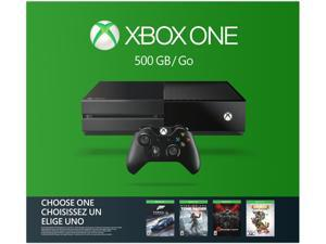 Xbox One 500GB Name Your Game Console Bundle