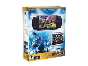 SONY PSP Limited Edition Rock Band Bundle Piano Black