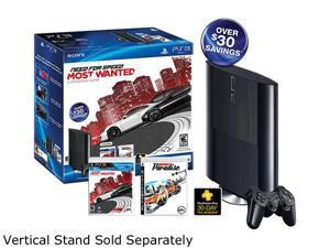 Sony Playstation 3 250GB Bundle w/Need for Speed Most Wanted & Burnout Paradise