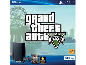 PlayStation 3 500GB Grand Theft Auto V Bundle