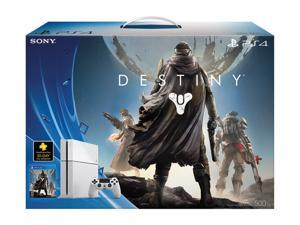 PS4 500GB Hardware Bundle White w/Destiny & PS Plus 30 Day