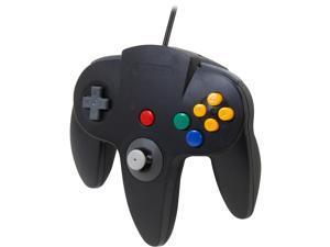 Cirka N64 Controller with long handle (Black)