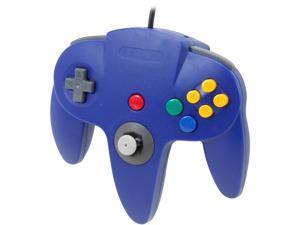 Cirka N64 Controller with long handle (Blue)