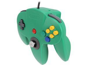 Cirka N64 Controller with long handle (Green)