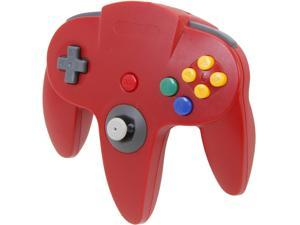 Cirka N64 Controller with long handle (Red)