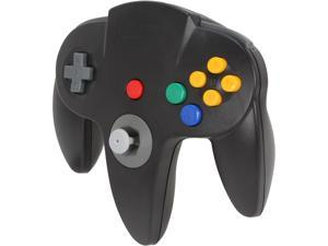 PC/ Mac CirKa N64 USB Long Handle Controller (Black)