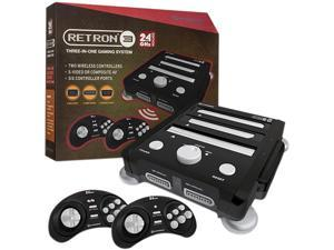 Hyperkin RetroN 3 Gaming Console 2.4 GHz Edition - NES / SNES / Gnensis - (Onxy Black)
