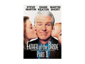 Father of the Bride 2 (1995 / DVD) Steve Martin, Diane Keaton, Martin Short, Kimberly Williams-Paisley, George Newbern