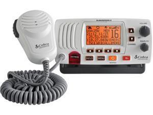 Cobra MRF57W 25 Watt Class-D Fixed Mount VHF Radio White