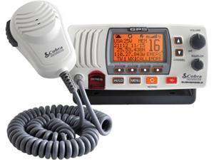 Cobra MRF77WGPS 25 watt VHF Radio White