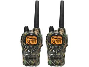 Midland GXT1050VP4 36 Mile Range 2-Way Radio 50 Channel Walkie Talkies & Charger