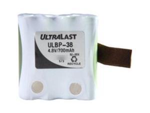 Ultralast ULBP-38 FRS Battery - Replaces Uniden BP-38, BP-40