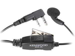 KENWOOD KHS-26 Clip Microphone with Earbud