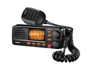 Uniden UM380BK Fixed Mount VHF/2-Way Marine Radio Black