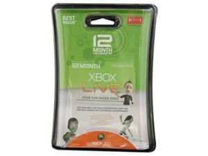 Microsoft XBOX Live 12 Month Subscription