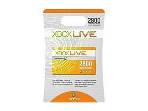 Microsoft XBOX 360 Live 2800 Points Card