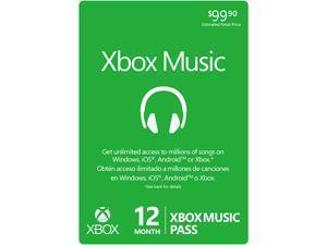 Microsoft 12 Month XBOX Music Pass (Digital Code)