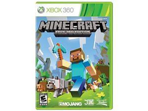 MineCraft: Xbox 360 English NA NTSC DVD - Replen Xbox 360 Game Microsoft