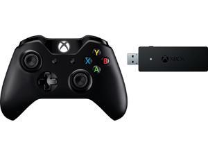 Microsoft NG6-00001 Xbox One Controller + Wireless Adapter for Windows 10