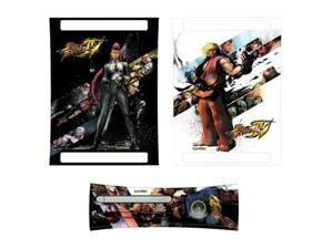 Mad Catz Xbox 360 Street Fighter IV Faceplate and Console Skins