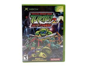 Teenage Mutant Ninja Turtles 2 XBOX Game KONAMI