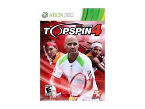 Top Spin 4 Xbox 360 Game