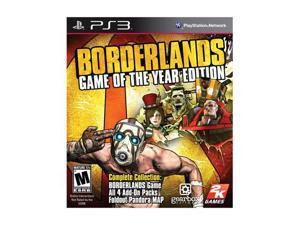 Borderlands: Game of the Year Edition with all DLC Xbox 360 Game 2K Games