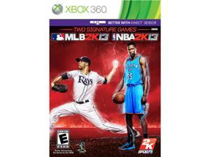 2K Sports Combo: MLB 2K13 & NBA 2K13: Xbox 360 game - 2K Games
