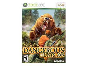 Cabela Dangerous Hunts 2009 Xbox 360 Game